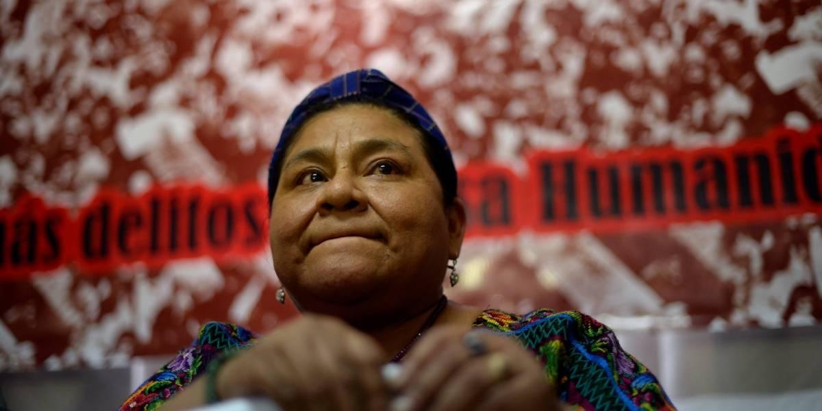 """Rigoberta Menchú: """"Trump está comprometido para cumplir con los más radicales"""""""