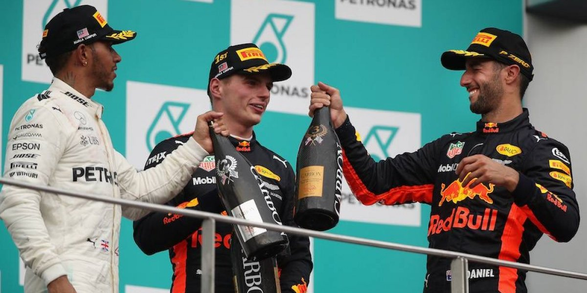 Max Verstappen se lleva el GP de Malasia; Checo Pérez sexto