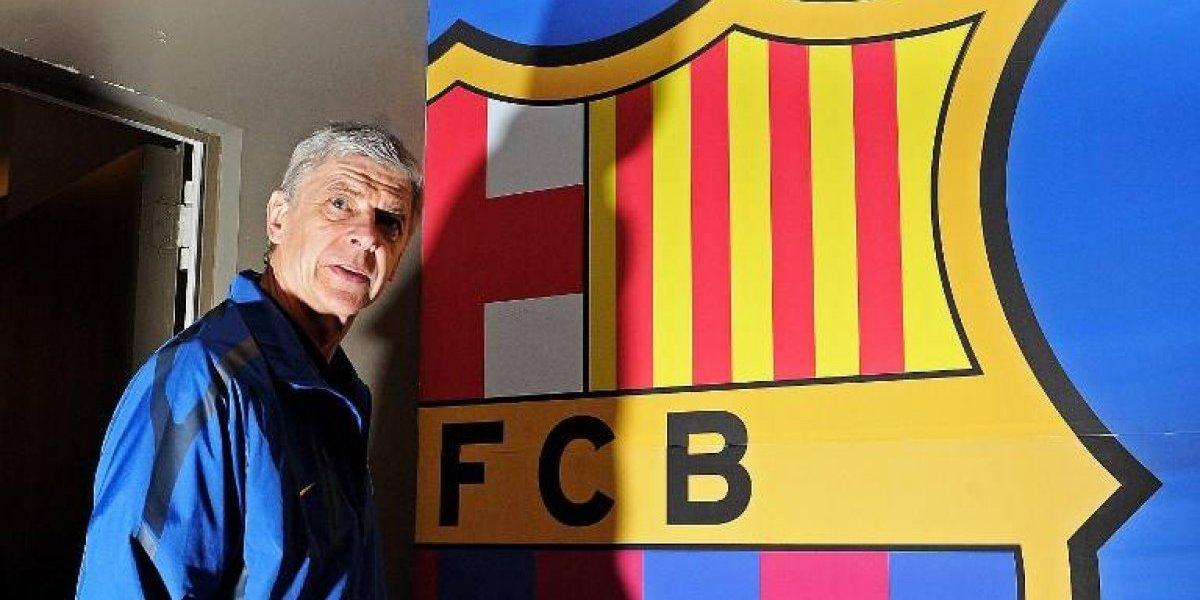 ¿Barcelona en la Premier League? Wenger se abre a la opción y dice que haría el torneo más difícil