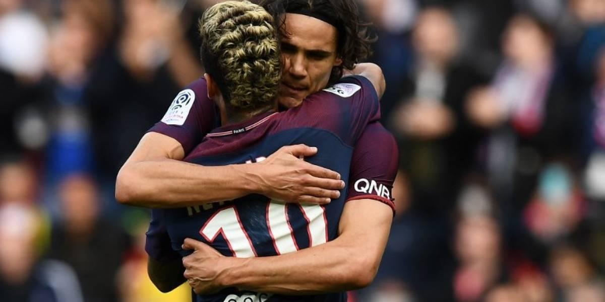 """Cavani celebra la paz con Neymar: """"Ya está todo tranquilo"""""""
