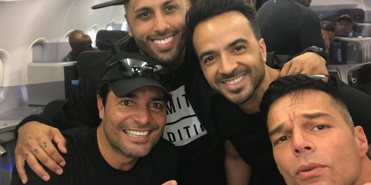 Luis Fonsi, Ricky Martin, Nicky Jam y Chayanne llegan a Puerto Rico