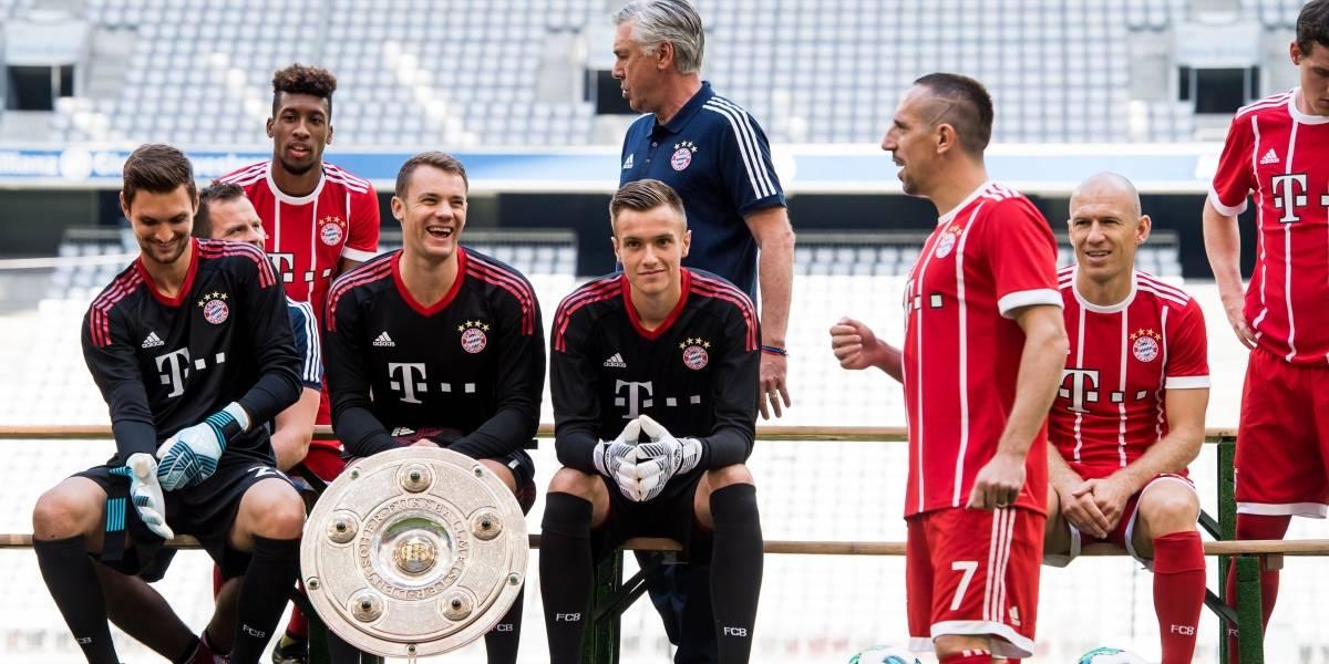 La 'rebelión' del Bayern: los jugadores entrenaban sin Ancelotti y sin James