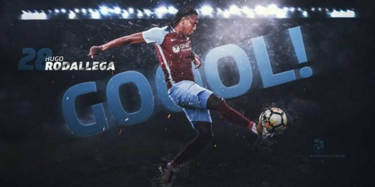 Hugo Rodallega revive sus opciones para 'la Tricolor' en el Trabzonspor