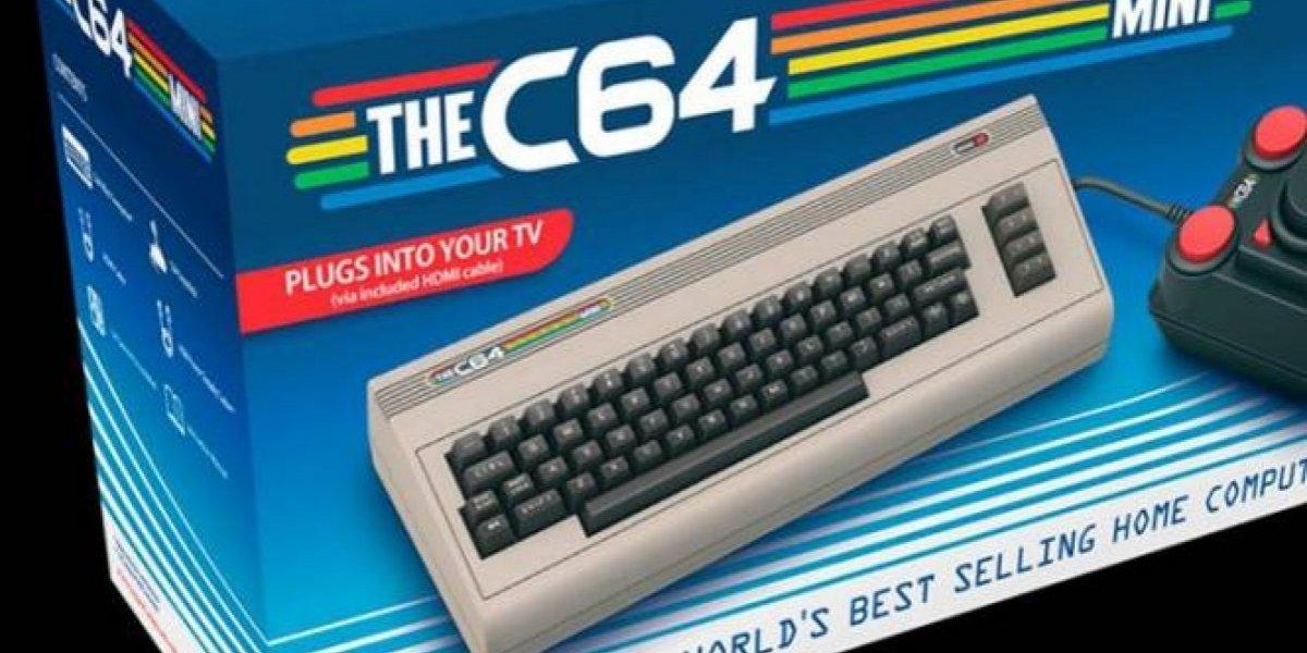 Vuelve el clásico Commodore 64 en versión Mini