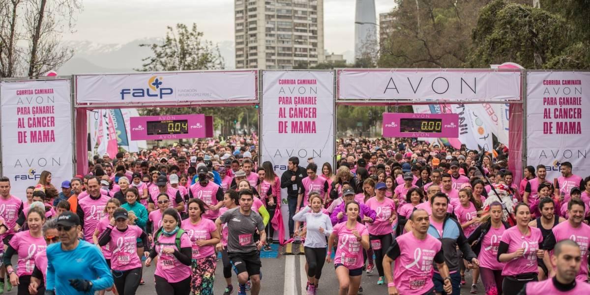 Más de 5 mil personas participaron en corrida contra el cáncer de mama el fin de semana