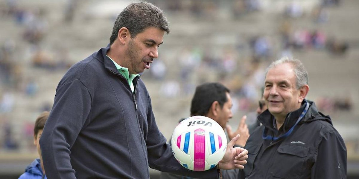 David Patiño, Director Técnico interino de Pumas
