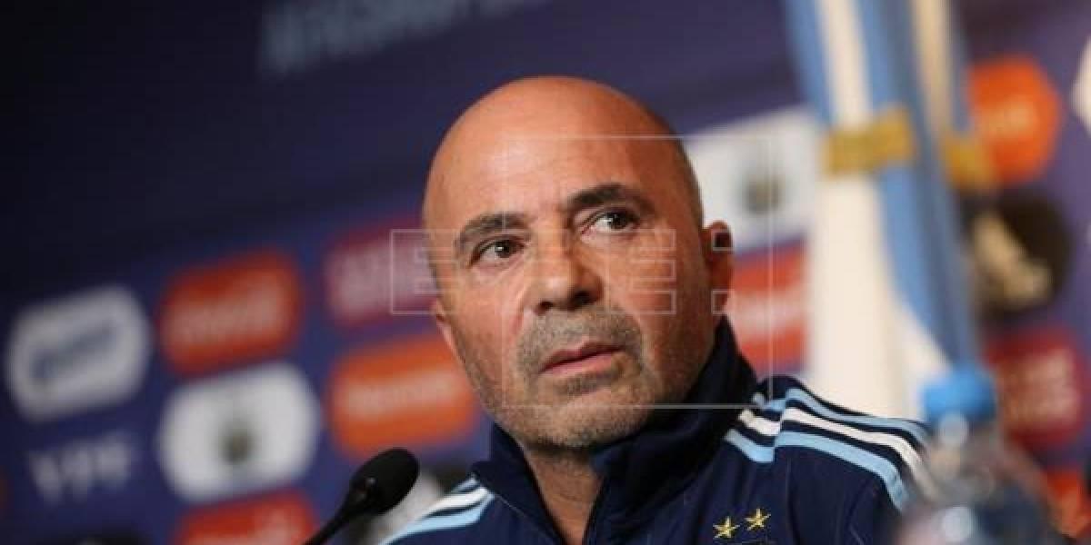 Sampaoli completa nómina de Argentina para partidos con Perú y Ecuador