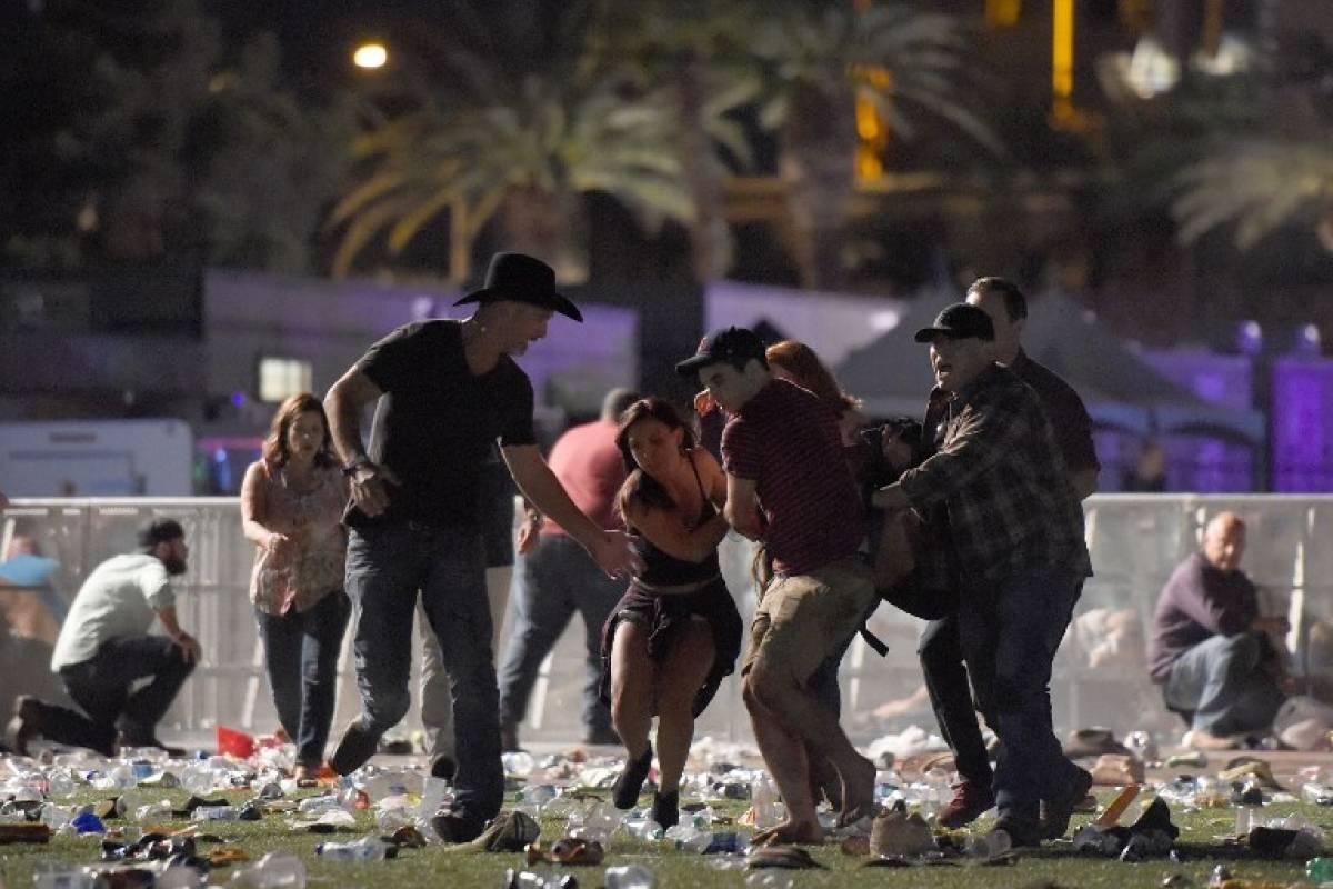 Tiroteo deja numerosos heridos — Las Vegas