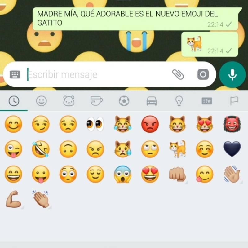 Cómo descargar y disfrutar ya de los nuevos emojis de WhatsApp