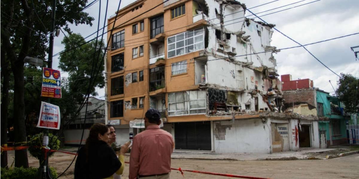 Sismo deja a 120 familias de la CDMX sin vivienda Infonavit