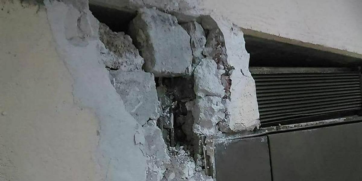 FOTOS: 'Maquillan' edificio en Izazaga 89 para obtener dictamen de seguridad