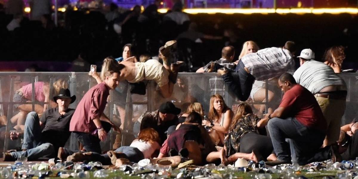 Las imágenes que muestran el horror tras tiroteo en Las Vegas que dejó más de 50 muertos