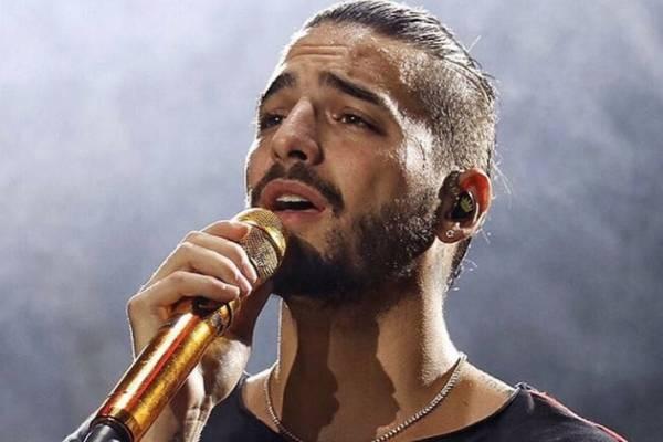 Así rechazó Maluma a una fan durante un concierto en Guadalajara