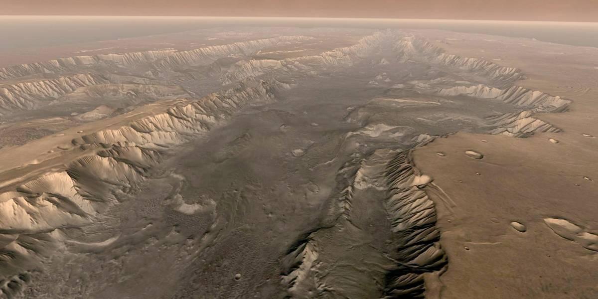Evidência de água em Marte pode ser apenas areia, diz estudo