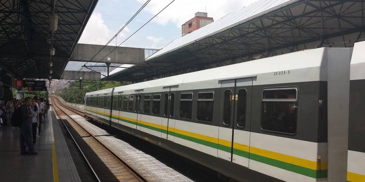 Se conocen imágenes de una pelea en plena estación del Metro de Medellín