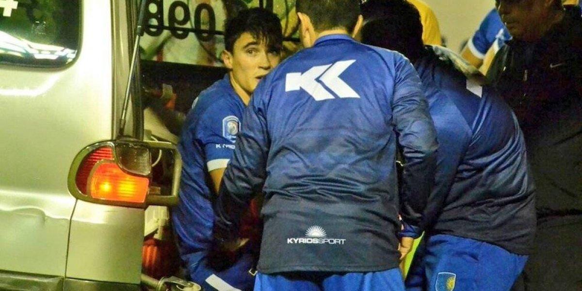 VIDEO: Jugador sufre espeluznante lesión en la Liga de Paraguay