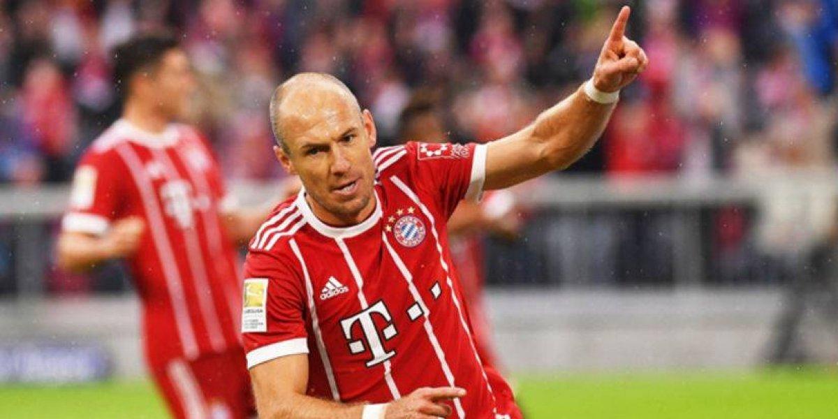 'Mi hijo entrena más, que nosotros con Ancelotti': Robben