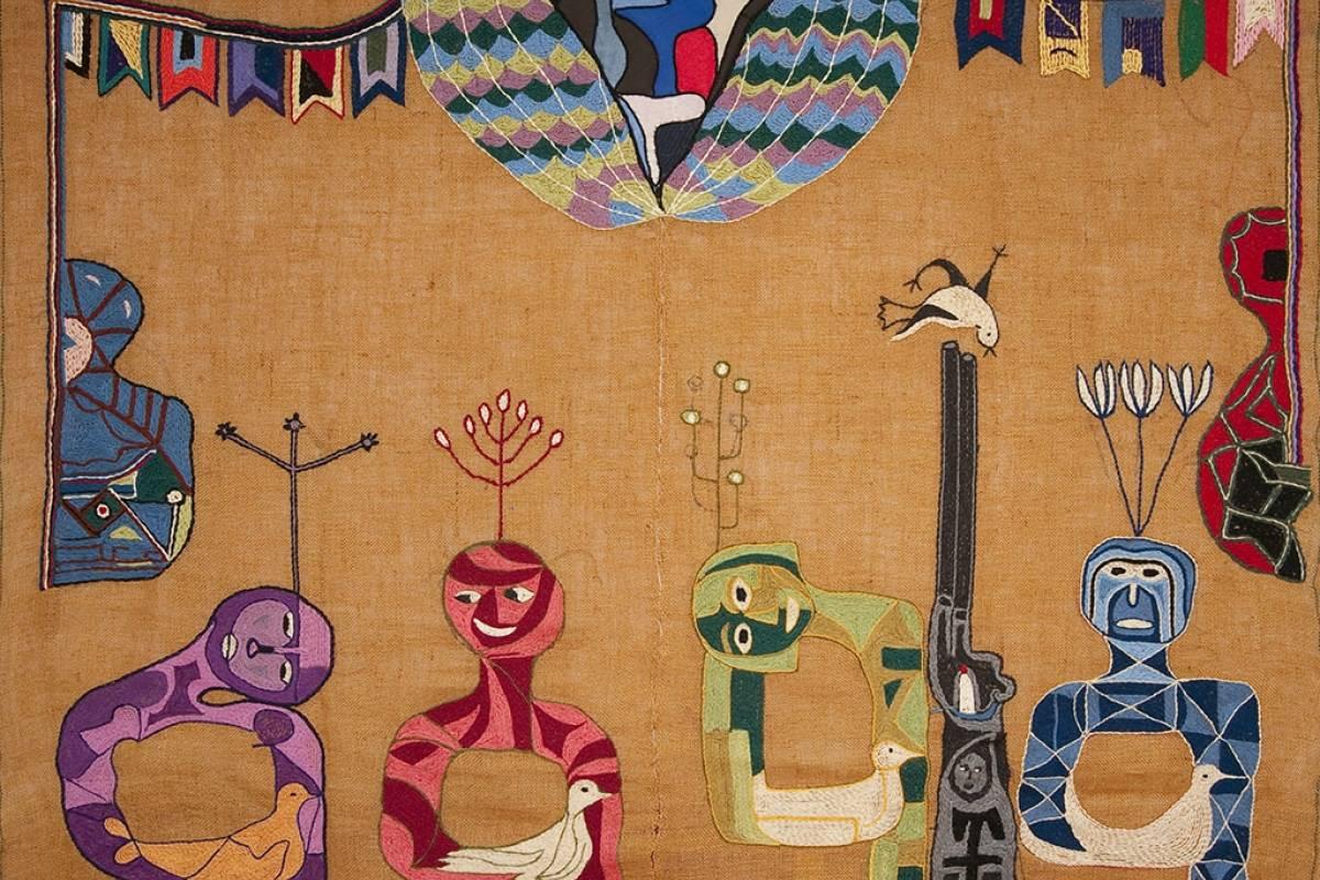 Violeta Parra es la protagonista del doodle de Google de hoy