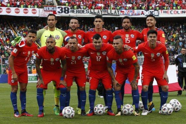 El equipo que jugó en La Paz