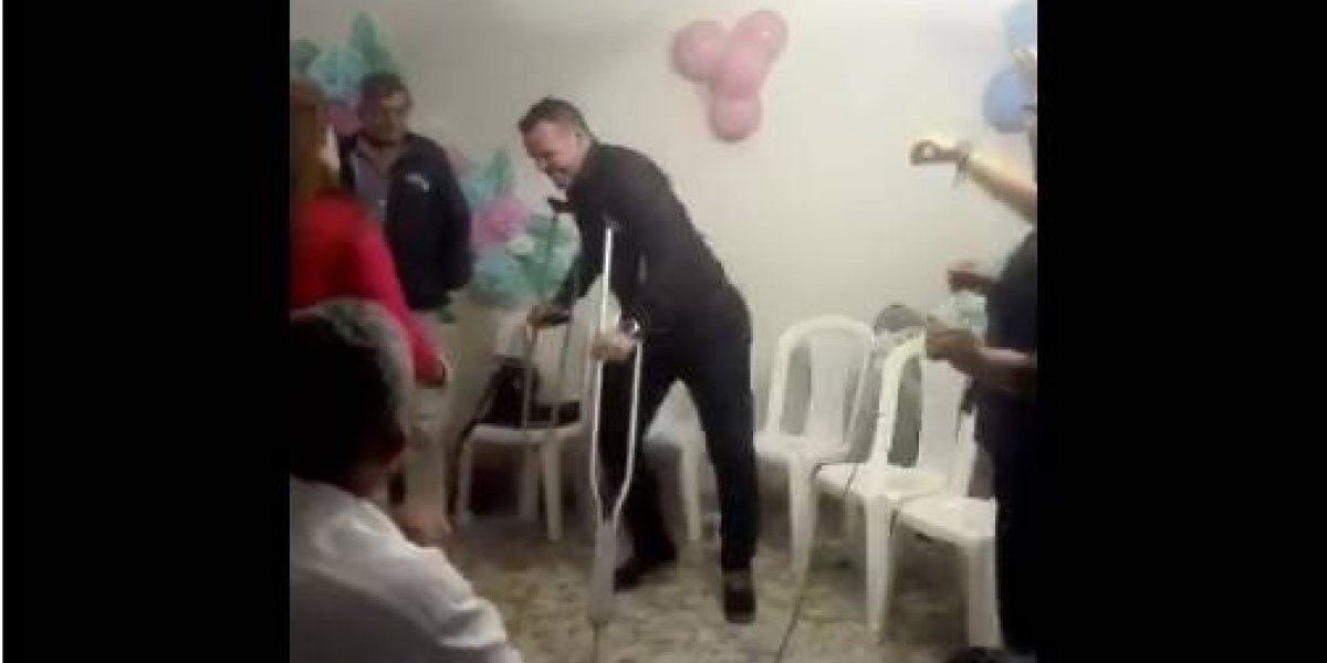¡Pulpo hasta para bailar! Alexis Viera y otra demostración de lo feliz que está