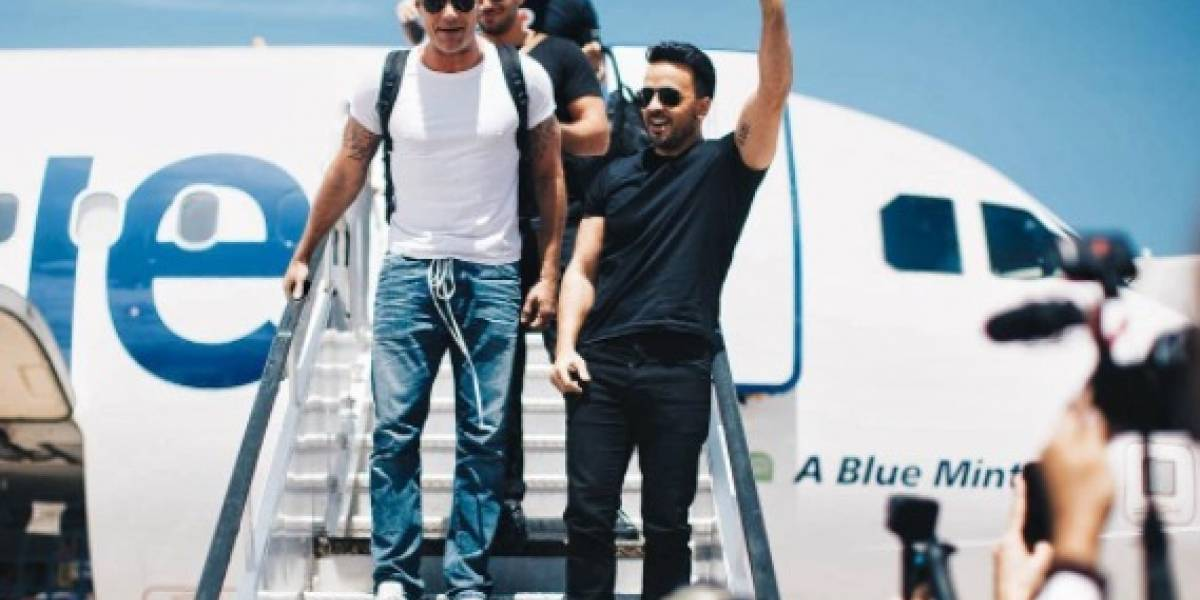 Fonsi, Ricky, Chayanne y Nicky llegan a Puerto Rico