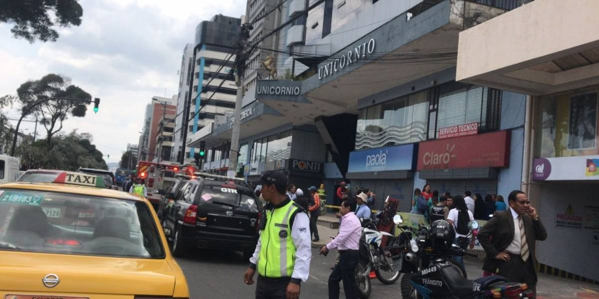 Amenaza de bomba en centro comercial de Quito