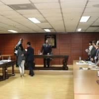 Audiencia de revisión de medidas cautelares para Jorge Glas y Ricardo Rivera