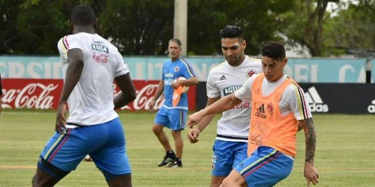 Selección Colombia ya se entrena a cabalidad para el partido de sus vidas