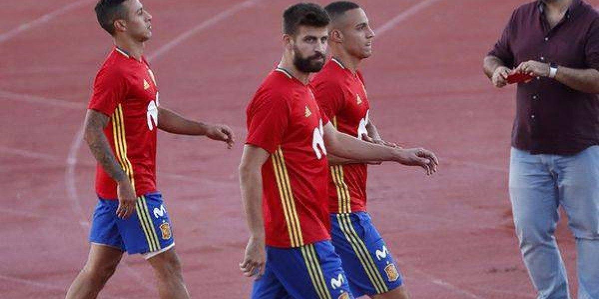 Piqué afirmó que está comprometido con la selección española