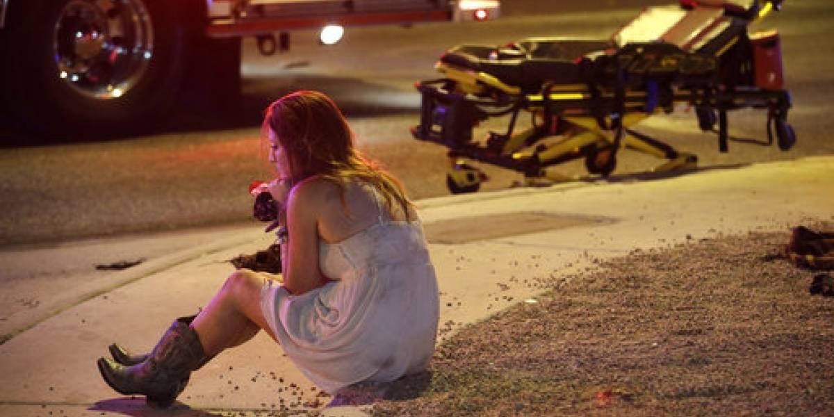 VIDEO. Comparten las primeras imágenes del momento exacto de tiroteo en Las Vegas