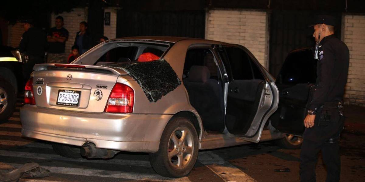 Tras balacera, PNC captura a pandilleros en la zona 5