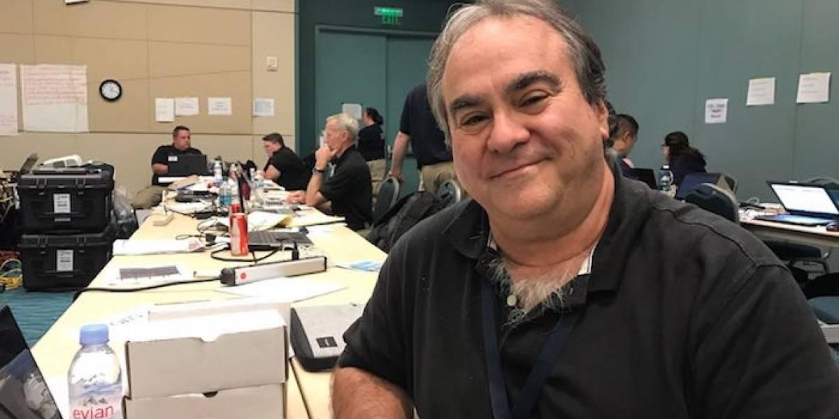 James Lapkoff sana boricuas en medio del desastre