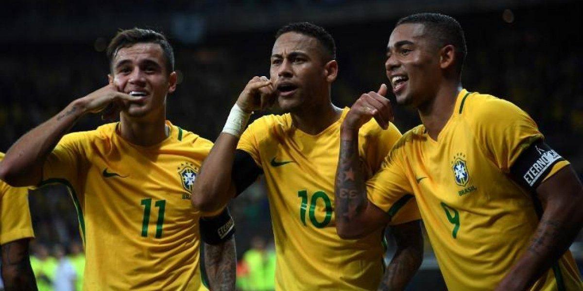 El cotizado trío de oro que juntó Brasil y que aparece en el horizonte del sueño chileno