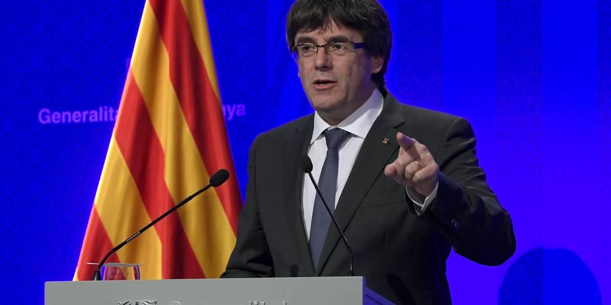 """Presidente del gobierno catalán asegura que la declaración de independencia """"será cosa de días"""""""