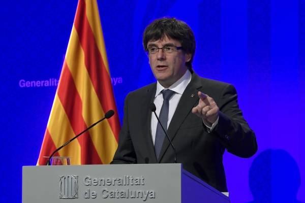 Tribunal Constitucional de España suspende declaración de independencia de Cataluña