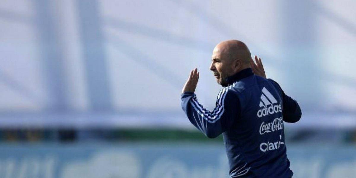 Sampaoli sigue experimentando en Argentina y delinea un ofensivo 11 para enfrentar a Per