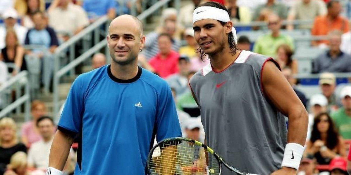 "Andre Agassi abre el debate: ""Nadal es el mejor tenista de la historia"""