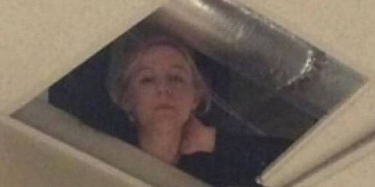 Twitter: profesora que espiaba a alumnos en el techo durante examen se viraliza