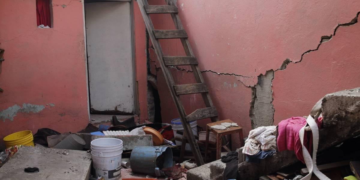 San Gregorio, pueblo desolado por terremoto en México
