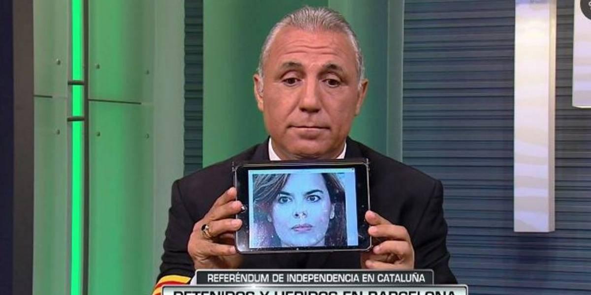 Vicepresidenta del gobierno español demandará a ex jugador del Barça