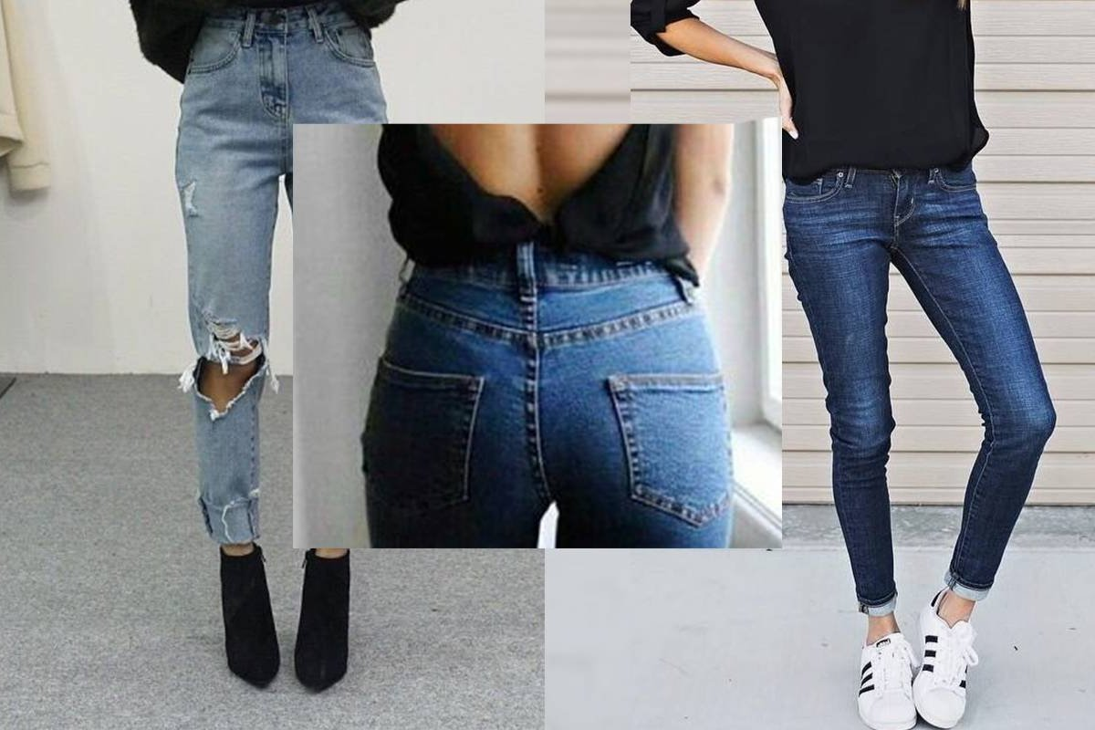 Este es el tipo de jeans que deberías usar según tu estatura y tipo de  cuerpo. Para la mayoría de las mujeres ... be6742d06e43