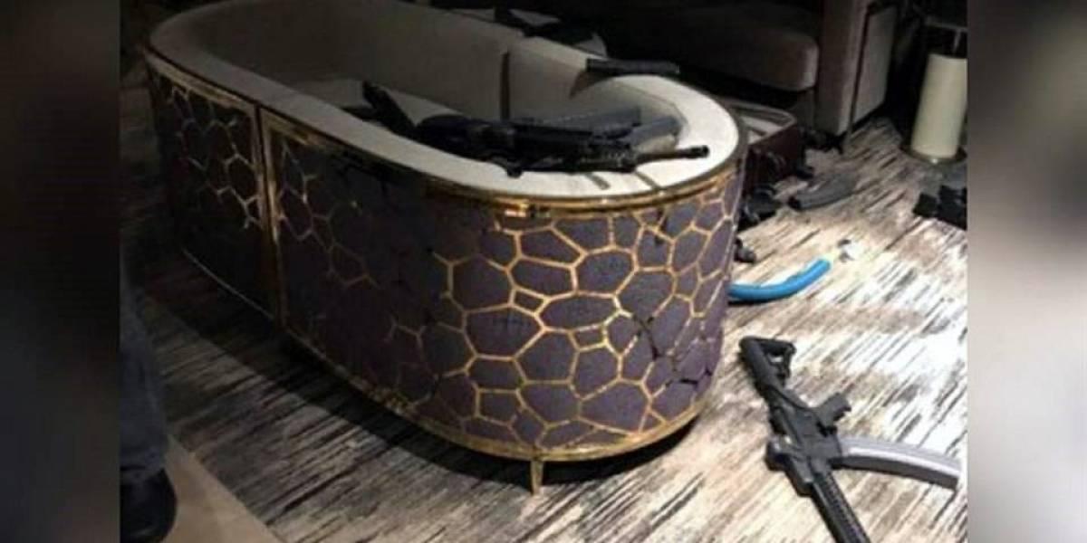 Revelan fotos de la habitación del agresor de Las Vegas