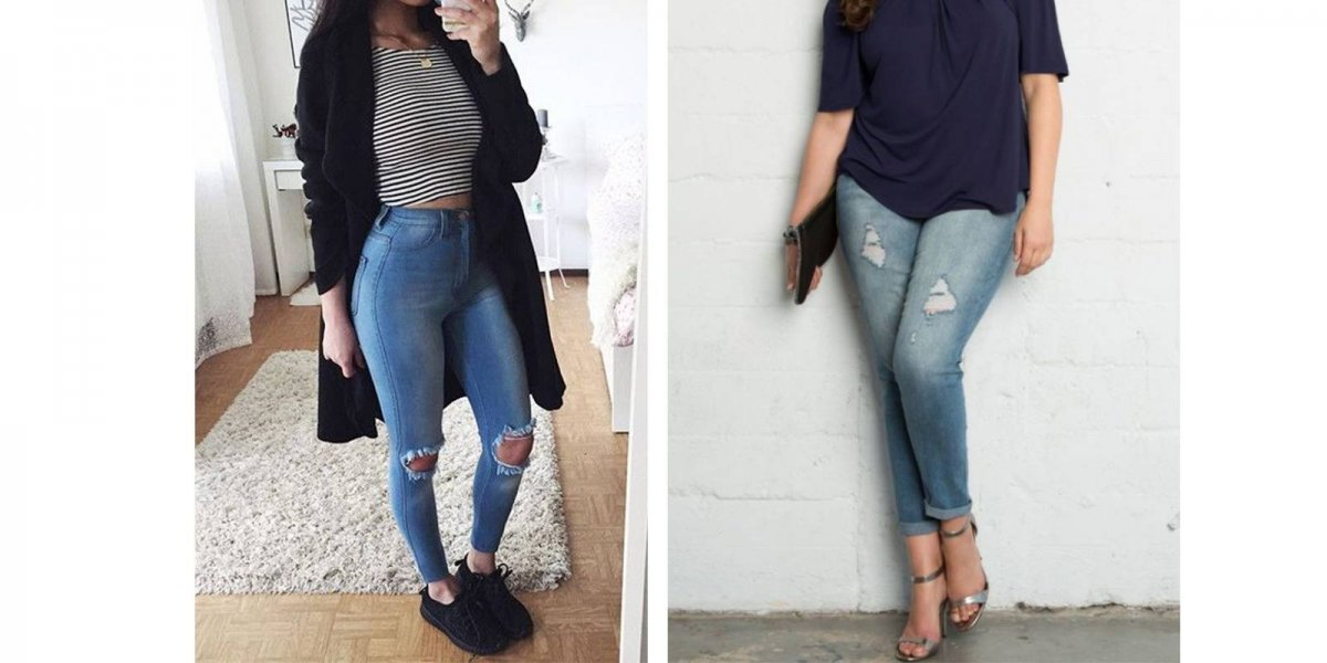 jeans muslos