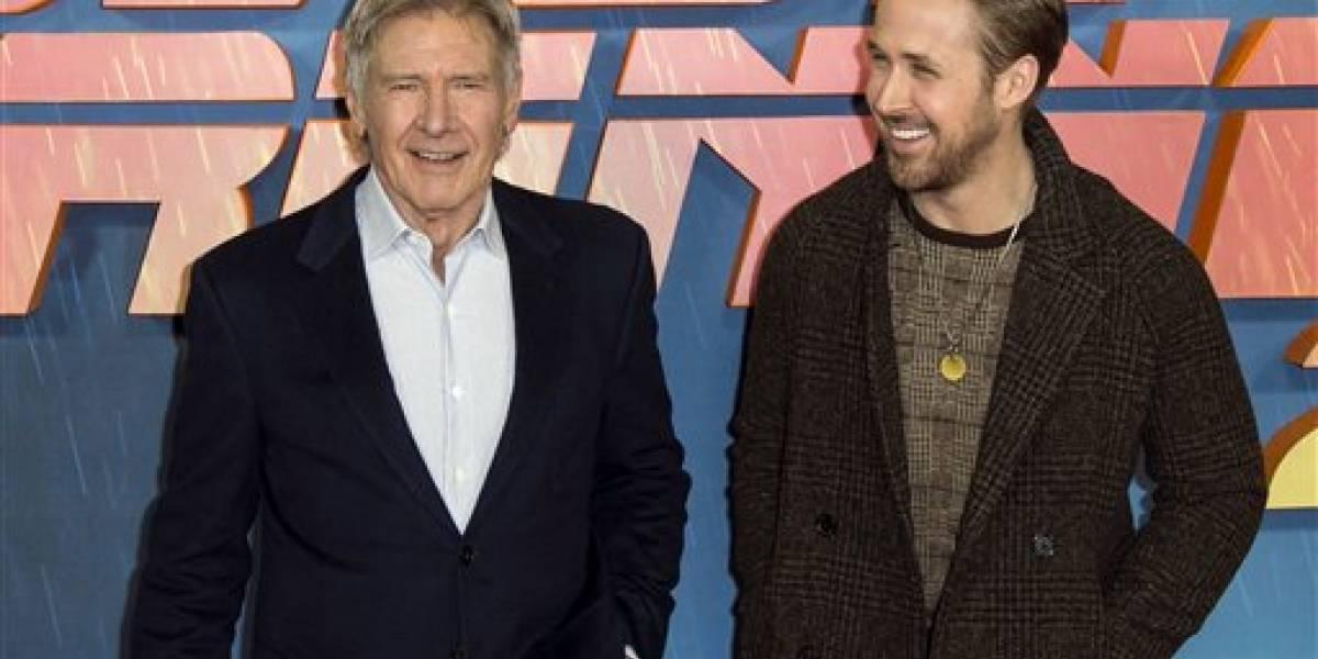 Ford y Gosling, cara a cara en Blade Runner