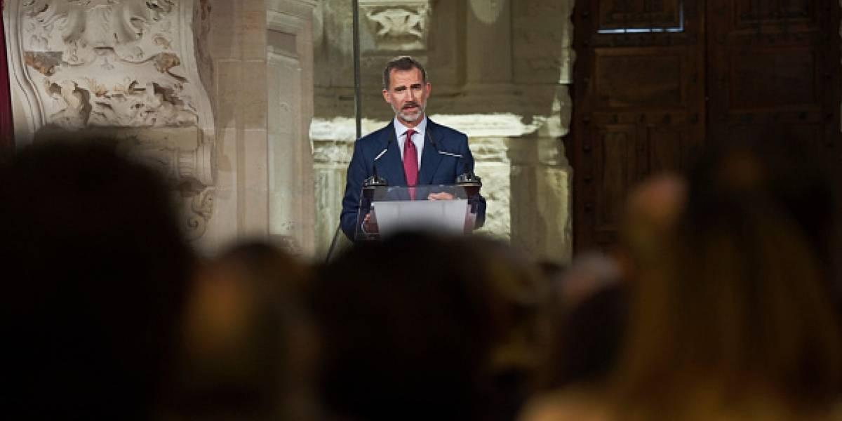 El Rey Felipe VI habló sobre el accionar del gobierno de Cataluña