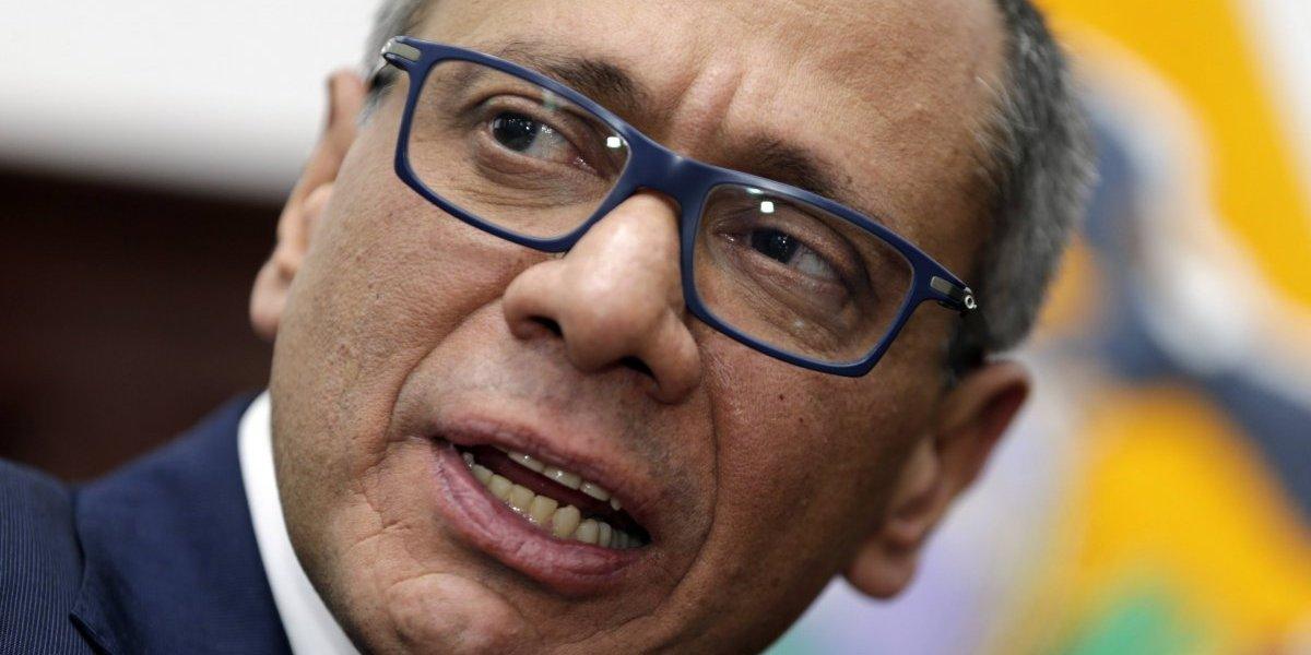 Prisión preventiva al vicepresidente de Ecuador por posibles actos de corrupción