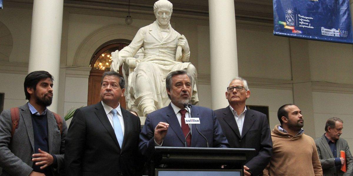 """Alejandro Guillier se tiene fe: """"Apuesto a que Piñera no gana en segunda vuelta"""""""