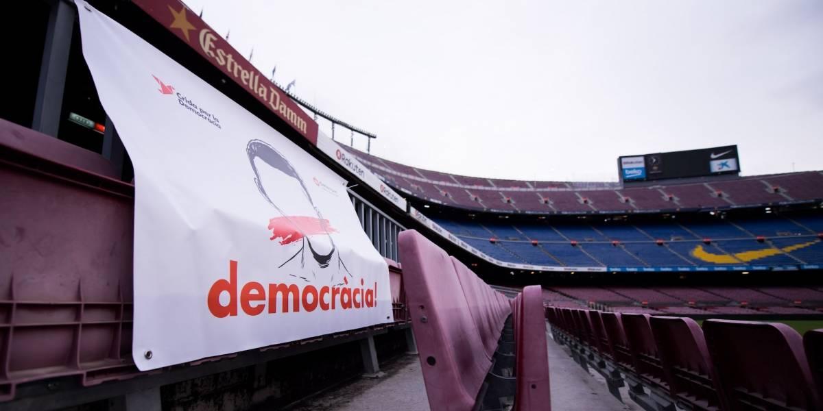 Los equipos que se unieron al paro laboral en Cataluña liderados por el Barcelona