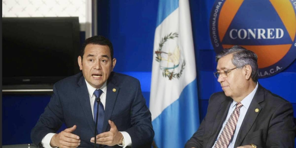 """Jimmy Morales asegura que no puede hablar de """"arrepentimientos"""""""