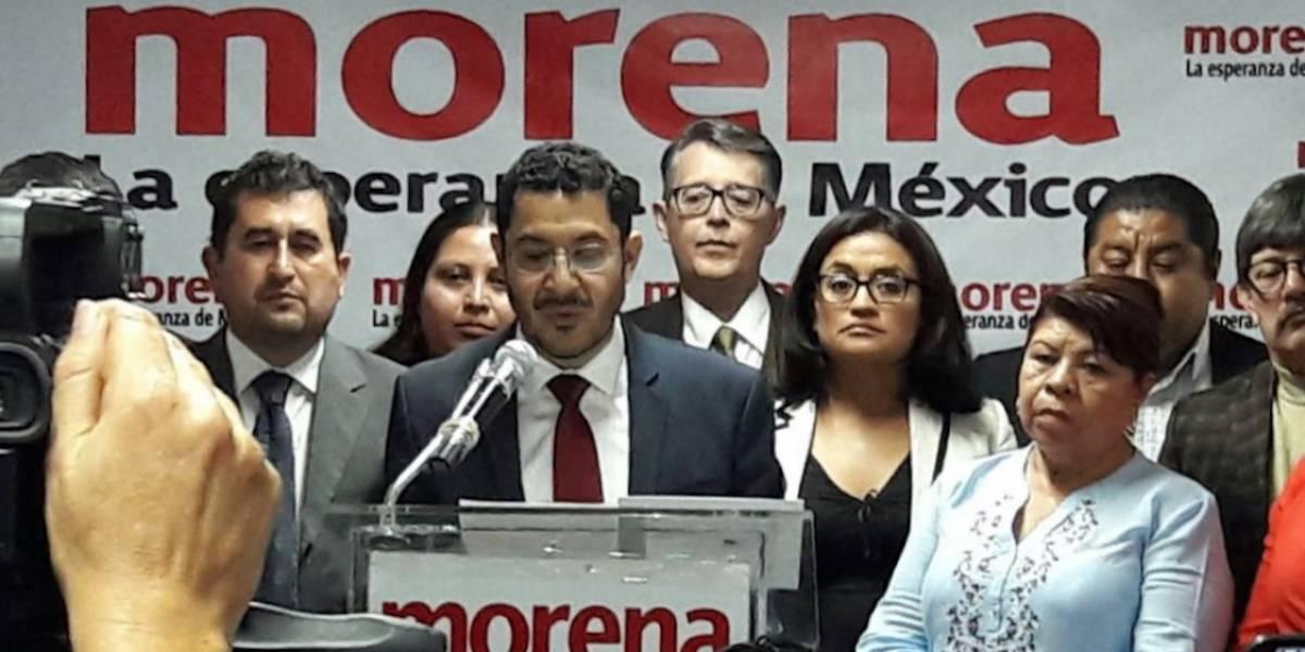 Exige Morena investigación a inmobiliarias por derrumbes en CDMX